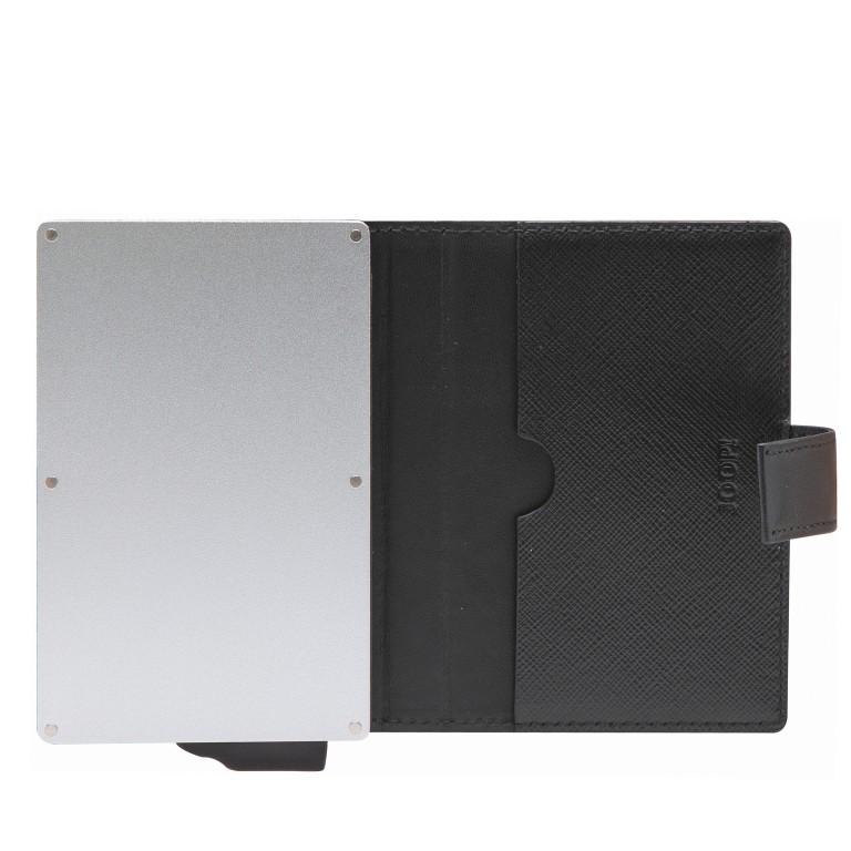Geldbörse E-Cage C-Two Black, Farbe: schwarz, Marke: Joop!, EAN: 4053533846610, Abmessungen in cm: 7.0x10.0x1.8, Bild 2 von 3