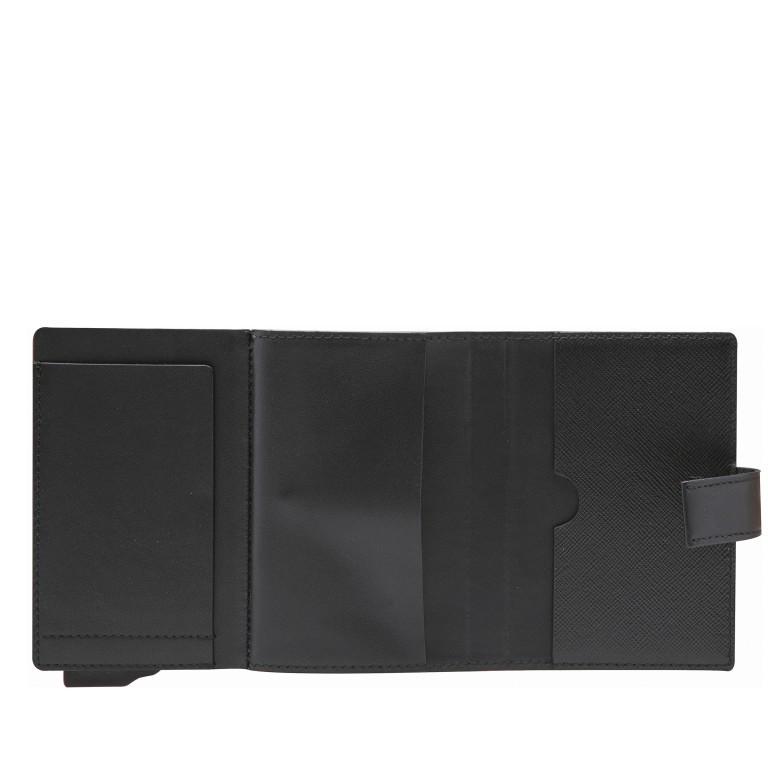 Geldbörse E-Cage C-Two Black, Farbe: schwarz, Marke: Joop!, EAN: 4053533846610, Abmessungen in cm: 7.0x10.0x1.8, Bild 3 von 3