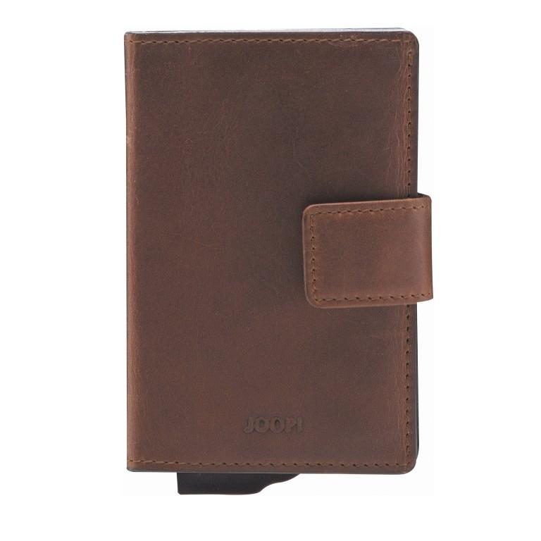 Geldbörse E-Cage C-Two Dark Brown, Farbe: braun, Marke: Joop!, EAN: 4053533846887, Abmessungen in cm: 7.0x10.0x1.8, Bild 1 von 3