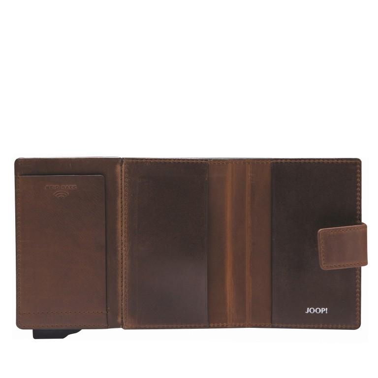 Geldbörse E-Cage C-Two Dark Brown, Farbe: braun, Marke: Joop!, EAN: 4053533846887, Abmessungen in cm: 7.0x10.0x1.8, Bild 3 von 3