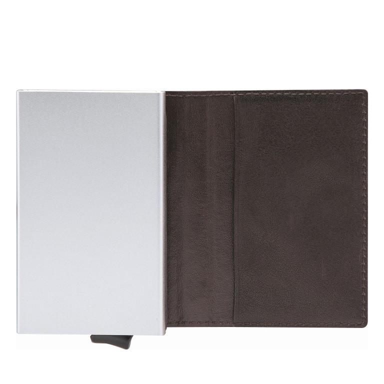 Geldbörse E-Cage C-ONE Dark Brown, Farbe: braun, Marke: Strellson, EAN: 4053533850273, Abmessungen in cm: 6.5x10.2x2.0, Bild 2 von 3