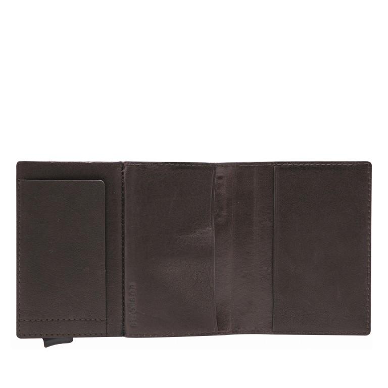 Geldbörse E-Cage C-ONE Dark Brown, Farbe: braun, Marke: Strellson, EAN: 4053533850273, Abmessungen in cm: 6.5x10.2x2.0, Bild 3 von 3