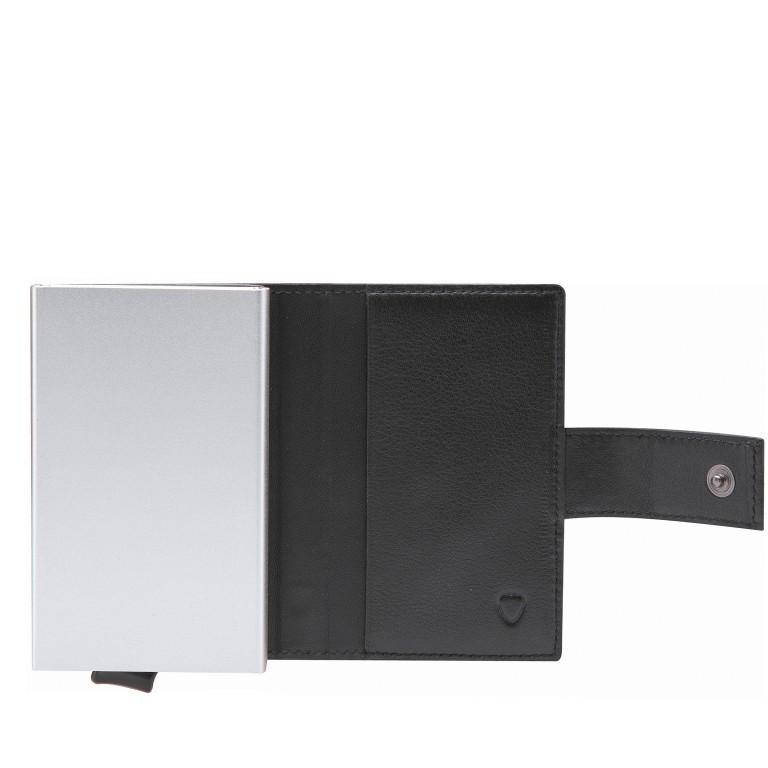 Geldbörse E-Cage C-TWO Black, Farbe: schwarz, Marke: Strellson, EAN: 4053533850259, Abmessungen in cm: 6.5x10.2x2.0, Bild 2 von 3