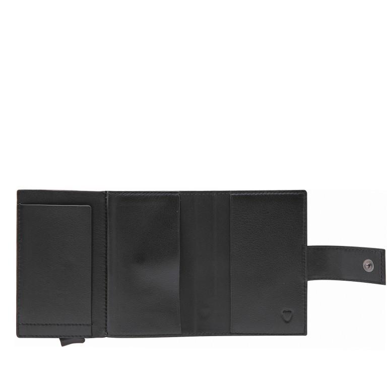 Geldbörse E-Cage C-TWO Black, Farbe: schwarz, Marke: Strellson, EAN: 4053533850259, Abmessungen in cm: 6.5x10.2x2.0, Bild 3 von 3