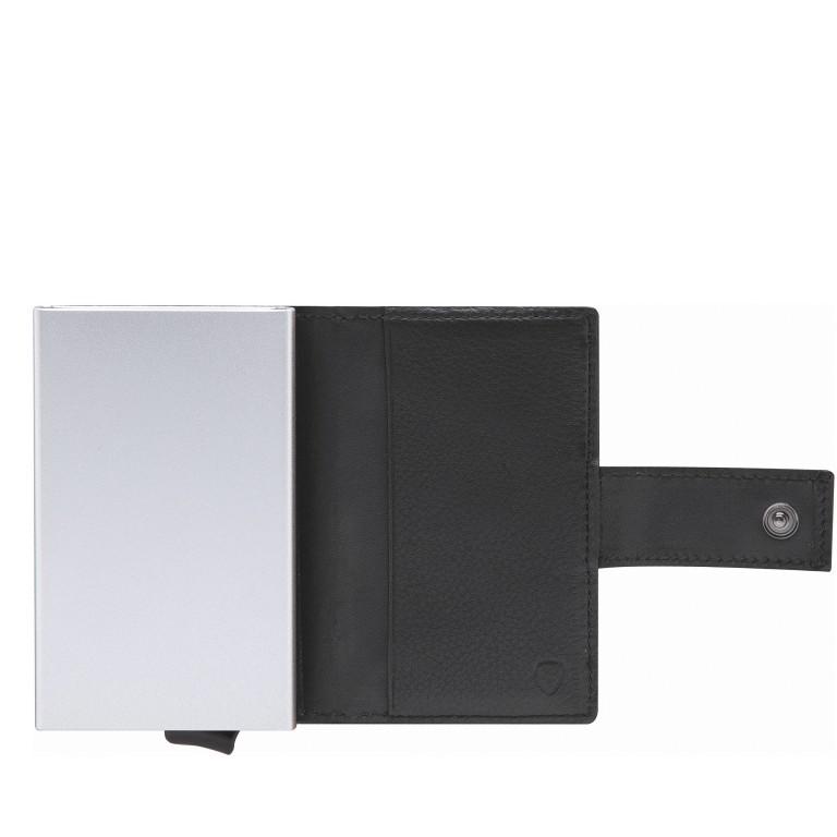 Geldbörse E-Cage C-THREE Black, Farbe: schwarz, Marke: Strellson, EAN: 4053533846399, Abmessungen in cm: 6.5x10.0x2.5, Bild 3 von 4