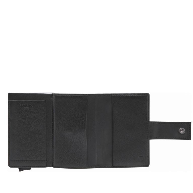 Geldbörse E-Cage C-THREE Black, Farbe: schwarz, Marke: Strellson, EAN: 4053533846399, Abmessungen in cm: 6.5x10.0x2.5, Bild 4 von 4