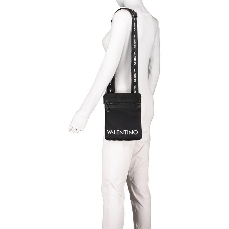 Umhängetasche Kylo Nero, Farbe: schwarz, Marke: Valentino Bags, EAN: 8058043141909, Abmessungen in cm: 19.5x24.5x2.0, Bild 3 von 4
