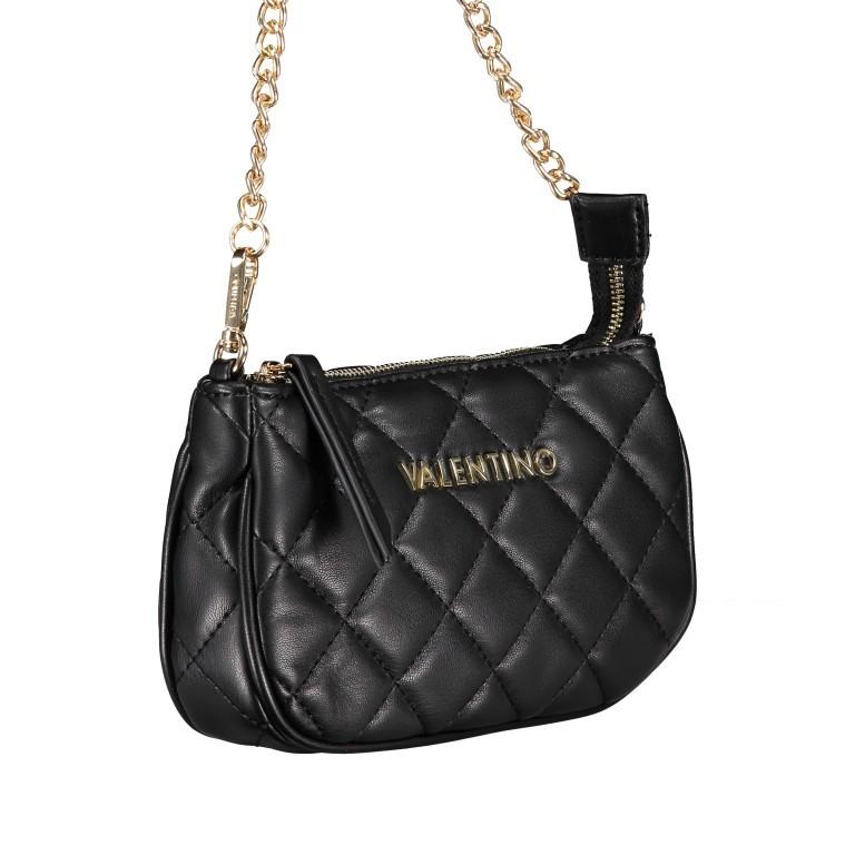 Umhängetasche Ocarina Nero, Farbe: schwarz, Marke: Valentino Bags, EAN: 8058043177045, Abmessungen in cm: 24.5x14.5x5.0, Bild 12 von 14