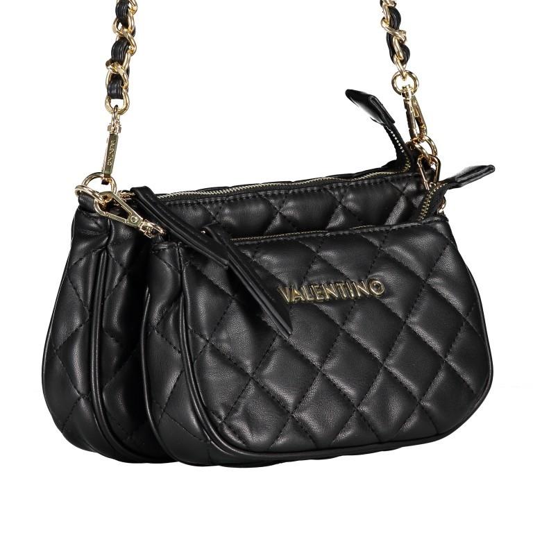 Umhängetasche Ocarina Nero, Farbe: schwarz, Marke: Valentino Bags, EAN: 8058043177045, Abmessungen in cm: 24.5x14.5x5.0, Bild 2 von 14
