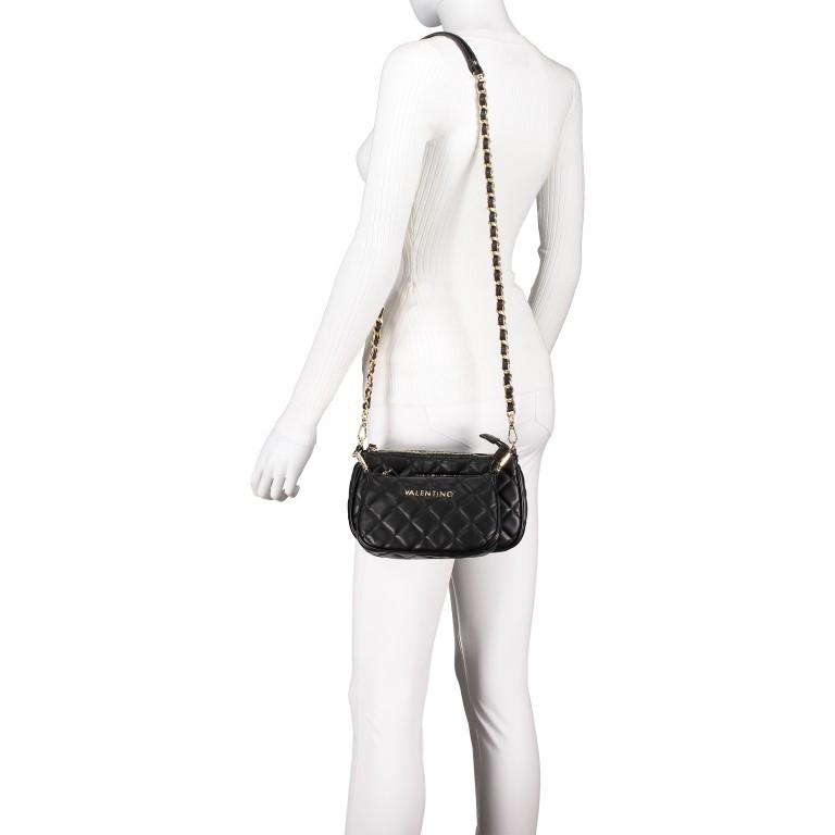 Umhängetasche Ocarina Nero, Farbe: schwarz, Marke: Valentino Bags, EAN: 8058043177045, Abmessungen in cm: 24.5x14.5x5.0, Bild 4 von 14