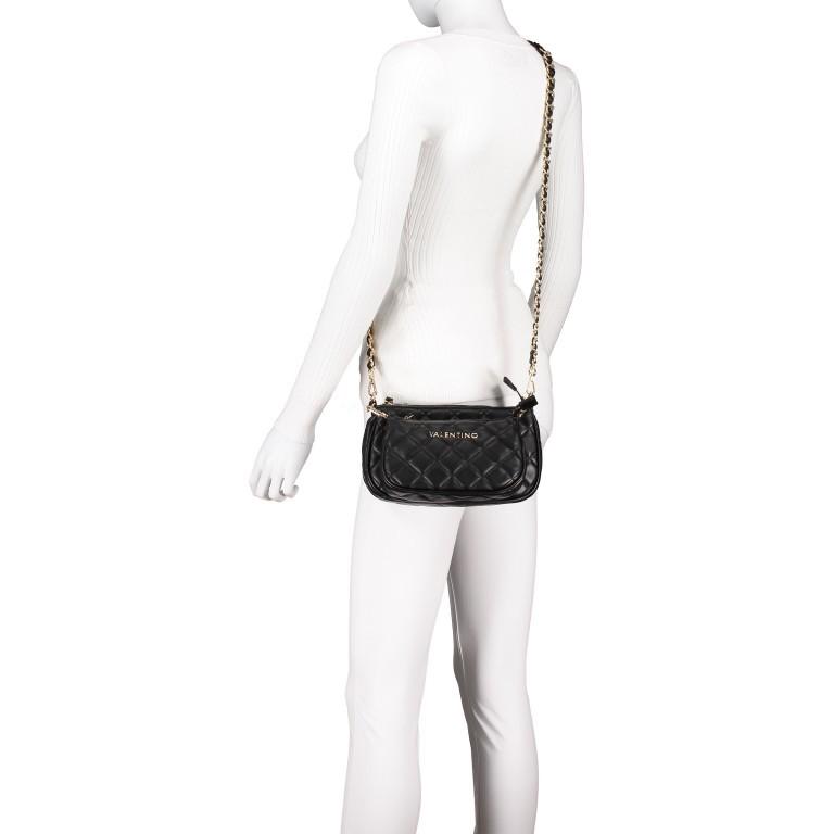 Umhängetasche Ocarina Nero, Farbe: schwarz, Marke: Valentino Bags, EAN: 8058043177045, Abmessungen in cm: 24.5x14.5x5.0, Bild 5 von 14