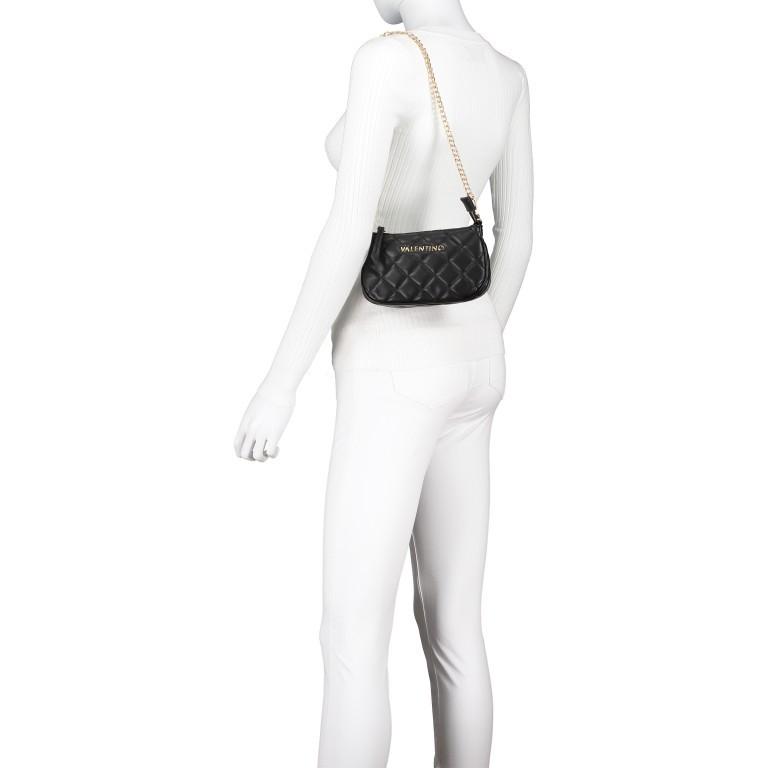 Umhängetasche Ocarina Nero, Farbe: schwarz, Marke: Valentino Bags, EAN: 8058043177045, Abmessungen in cm: 24.5x14.5x5.0, Bild 7 von 14