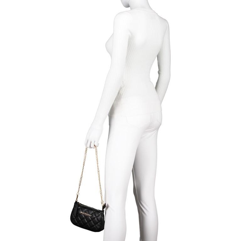 Umhängetasche Ocarina Nero, Farbe: schwarz, Marke: Valentino Bags, EAN: 8058043177045, Abmessungen in cm: 24.5x14.5x5.0, Bild 8 von 14