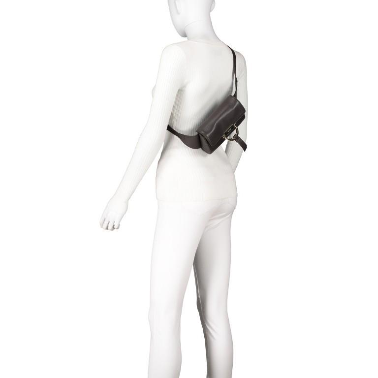 Gürteltasche Dalia Kate Dark Brown, Farbe: braun, Marke: Abro, EAN: 4061724463249, Abmessungen in cm: 18.0x12.0x5.0, Bild 5 von 6