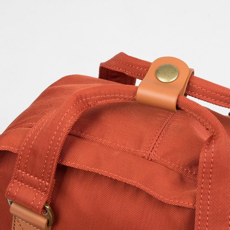 Doughnut Rucksack Macaroon Mini D124ET 7L Clay Soil, Farbe: orange, Marke: Doughnut, EAN: 4895222505015, Abmessungen in cm: 21.5x30.0x9.0, Bild 10 von 11