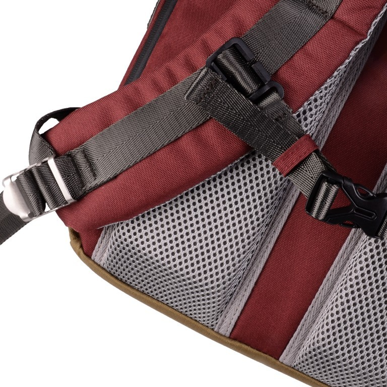 Rucksack Colorado Earth Tone Series Volumen 19 Liter Maroon Khaki, Farbe: braun, Marke: Doughnut, EAN: 4895222505503, Abmessungen in cm: 28.0x47.0x15.0, Bild 9 von 11