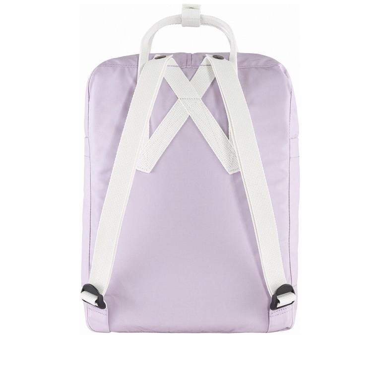 Rucksack Kånken Pastel Lavender Cool White, Farbe: flieder/lila, Marke: Fjällräven, EAN: 7323450643140, Abmessungen in cm: 27.0x38.0x13.0, Bild 3 von 13