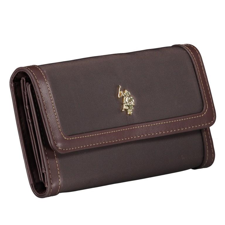 Geldbörse Houston L Dark Brown, Farbe: braun, Marke: U.S. Polo Assn., EAN: 8052792838714, Abmessungen in cm: 19.5x10.5x3.5, Bild 2 von 4
