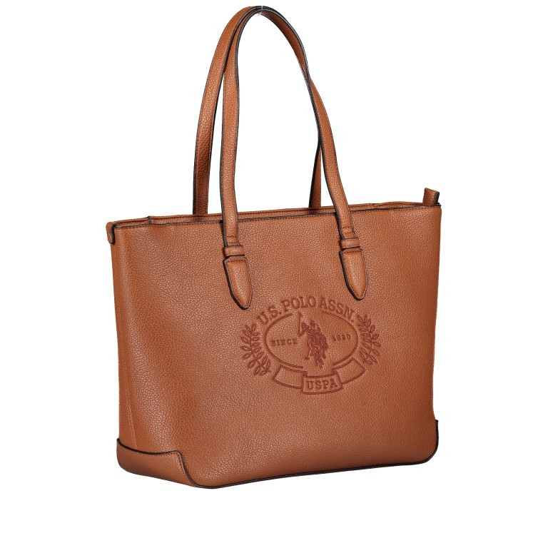 U.S. Polo Assn. Hailey Shopping Bag BIUHF4989WVP.521 Tan, Farbe: cognac, Marke: U.S. Polo Assn., EAN: 8052792837328, Bild 2 von 6