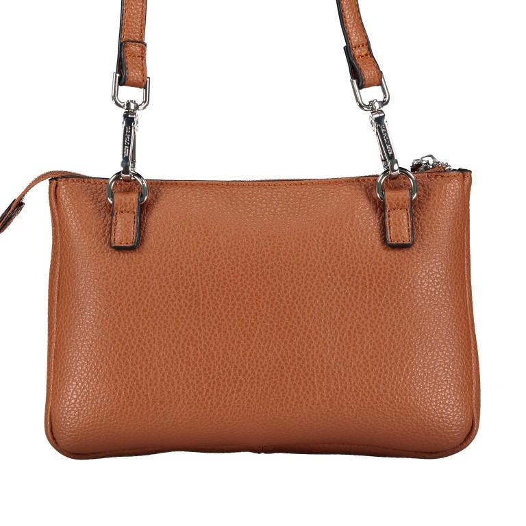 U.S. Polo Assn. Hailey Flat Crossbody Bag BIUHF4993WVP.521 Tan, Farbe: cognac, Marke: U.S. Polo Assn., EAN: 8052792837489, Abmessungen in cm: 25.0x16.0x2.0, Bild 3 von 7