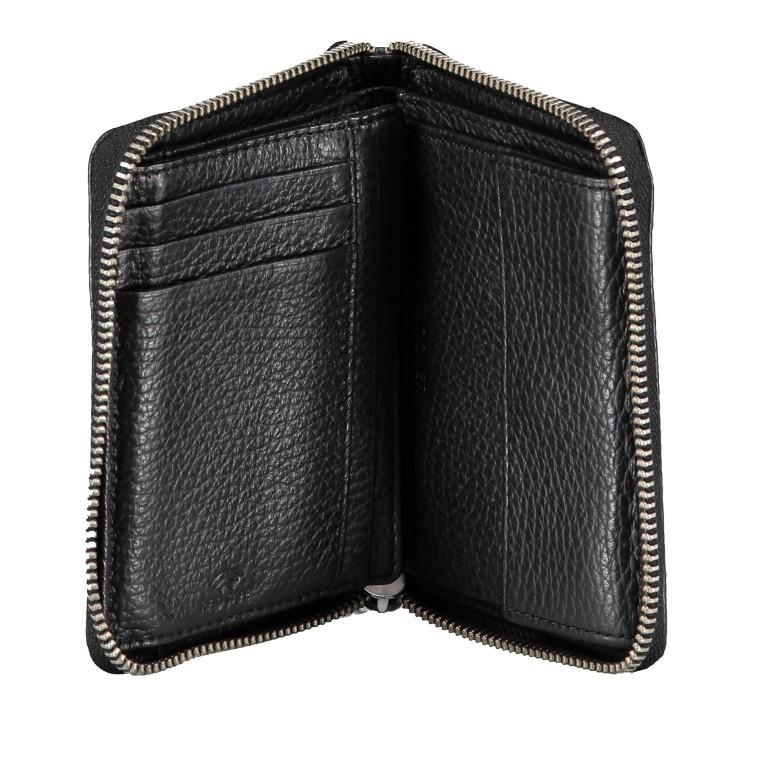 Geldbörse Andermatt Norah Black, Farbe: schwarz, Marke: Bogner, EAN: 4053533861156, Abmessungen in cm: 13.0x10.0x2.0, Bild 3 von 4