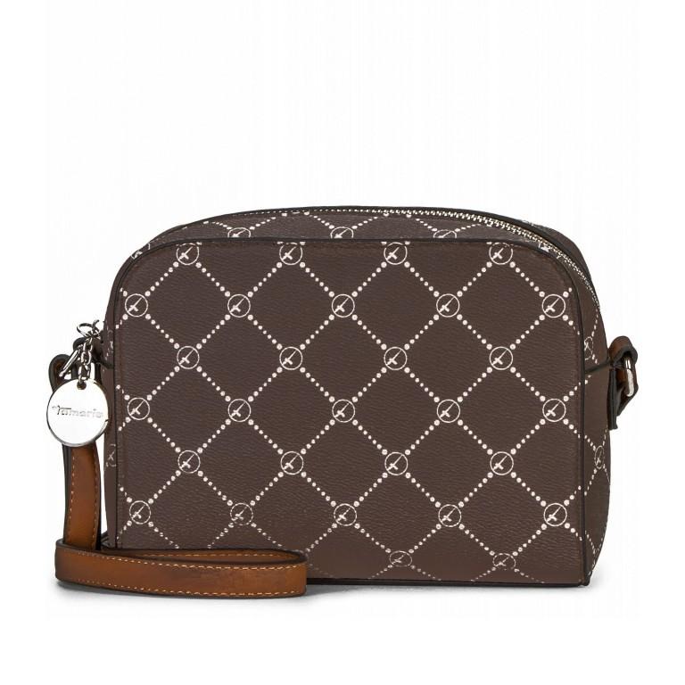 Umhängetasche Anastasia, Farbe: grau, braun, taupe/khaki, Marke: Tamaris, Abmessungen in cm: 21.0x16.0x4.0, Bild 1 von 7