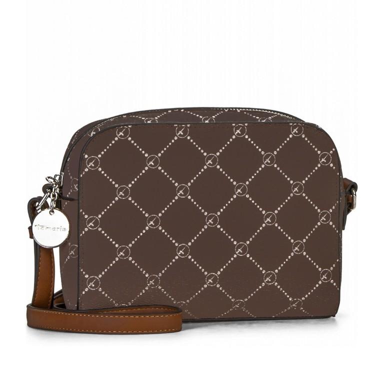 Umhängetasche Anastasia, Farbe: grau, braun, taupe/khaki, Marke: Tamaris, Abmessungen in cm: 21.0x16.0x4.0, Bild 2 von 7