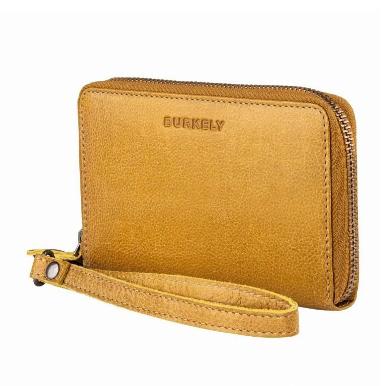 Geldbörse Just Jackie 1000037-84 Yellow, Farbe: gelb, Marke: Burkely, EAN: 8717128035532, Abmessungen in cm: 15.0x9.5x2.0, Bild 2 von 4