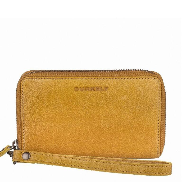 Geldbörse Just Jackie 1000037-84 Yellow, Farbe: gelb, Marke: Burkely, EAN: 8717128035532, Abmessungen in cm: 15.0x9.5x2.0, Bild 1 von 4