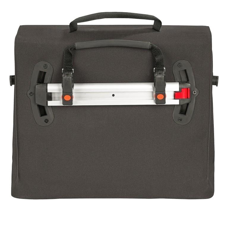 Fahrradtasche Made in Germany Bayreuth III L Black, Farbe: schwarz, Marke: Vaude, EAN: 4052285209605, Abmessungen in cm: 40.0x33.0x18.0, Bild 2 von 7