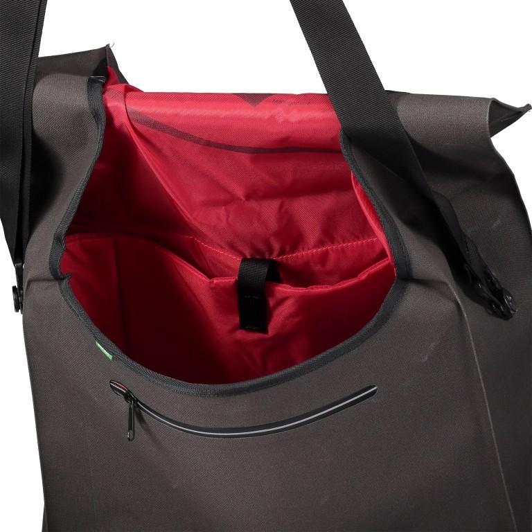Fahrradtasche Made in Germany Bayreuth III L Black, Farbe: schwarz, Marke: Vaude, EAN: 4052285209605, Abmessungen in cm: 40.0x33.0x18.0, Bild 7 von 7