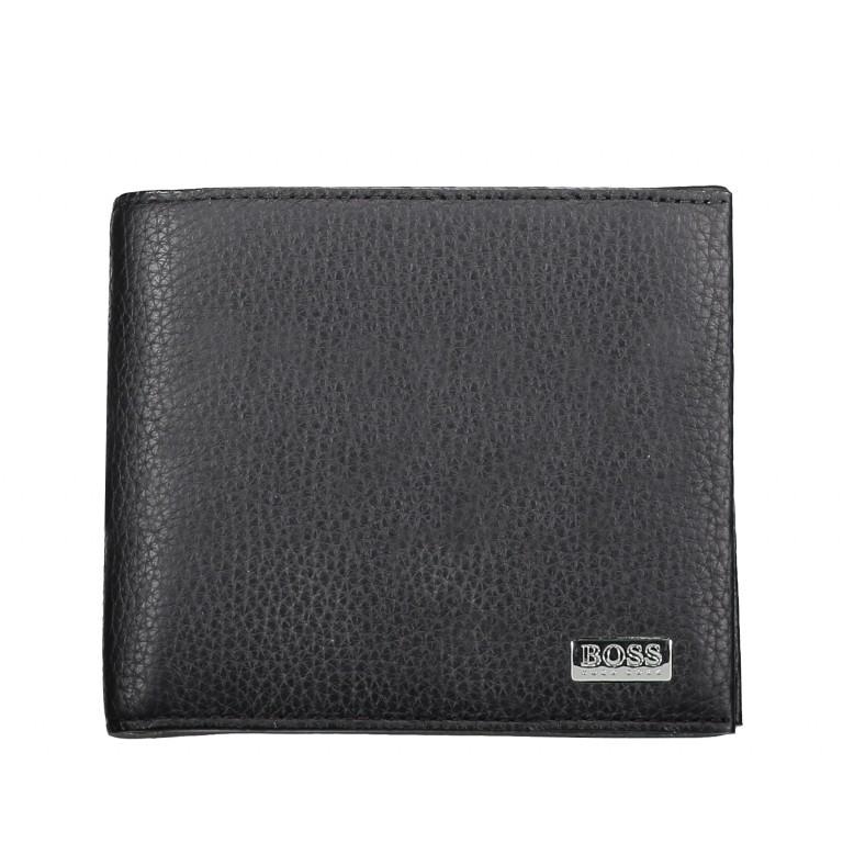 Geldbörse Crosstown 4CC Coin Wallet Black, Farbe: schwarz, Marke: Boss, EAN: 4046303267227, Abmessungen in cm: 11.0x9.5x2.5, Bild 1 von 3