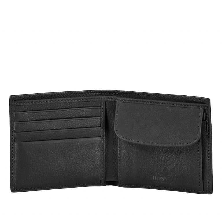Geldbörse Crosstown 4CC Coin Wallet Black, Farbe: schwarz, Marke: Boss, EAN: 4046303267227, Abmessungen in cm: 11.0x9.5x2.5, Bild 2 von 3