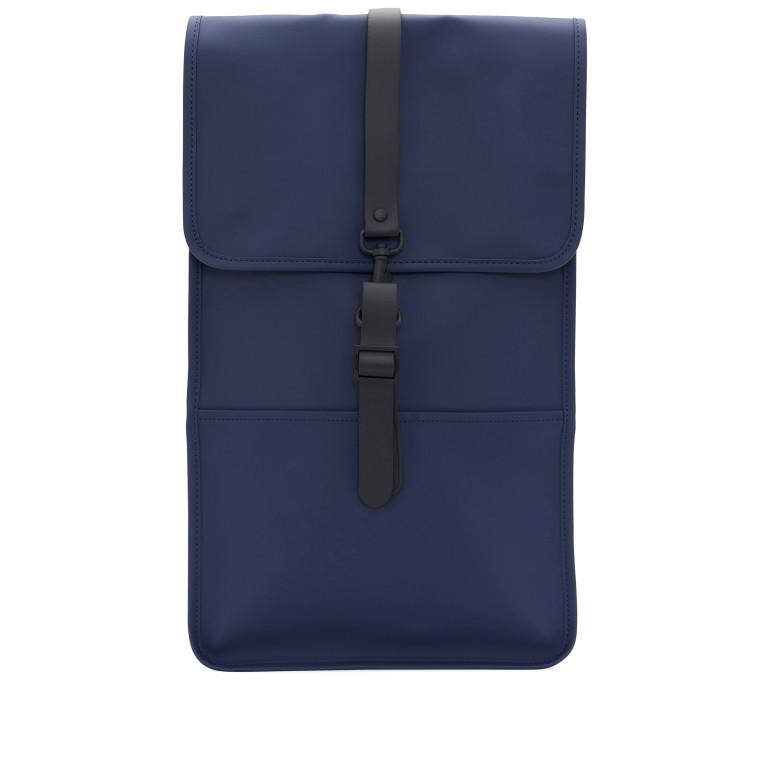 Rucksack Backpack Blue, Farbe: blau/petrol, Marke: Rains, EAN: 5711747205119, Abmessungen in cm: 28.5x47.0x10.0, Bild 1 von 9