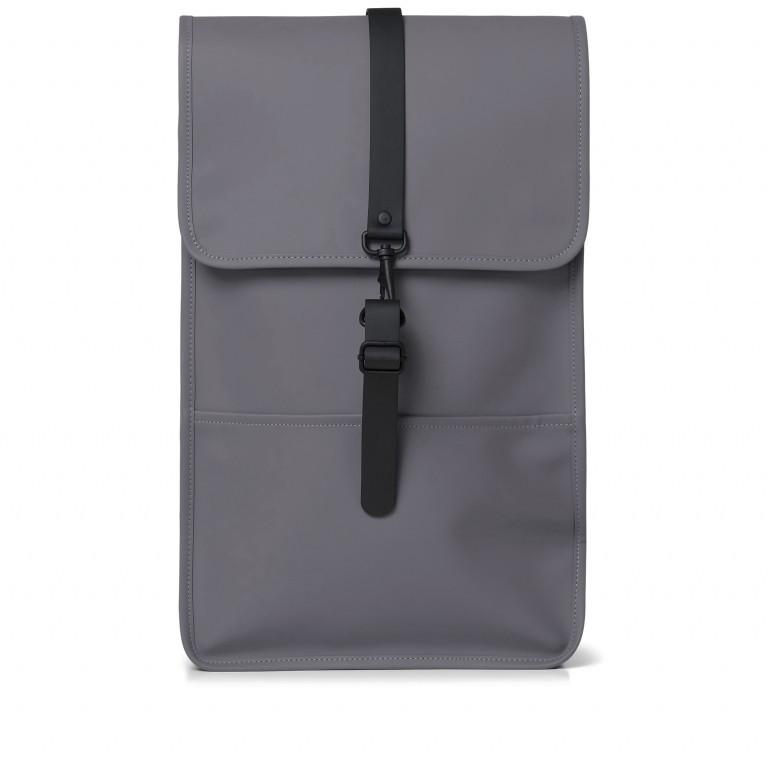 Rucksack Backpack Charcoal, Farbe: anthrazit, Marke: Rains, EAN: 5711747444235, Abmessungen in cm: 28.5x47.0x10.0, Bild 1 von 9