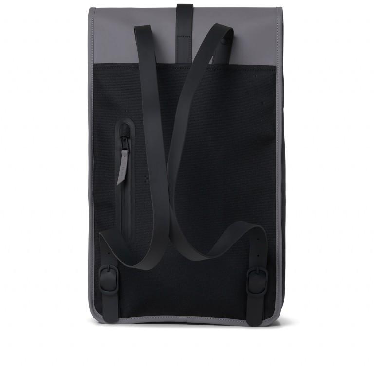 Rucksack Backpack Charcoal, Farbe: anthrazit, Marke: Rains, EAN: 5711747444235, Abmessungen in cm: 28.5x47.0x10.0, Bild 2 von 9