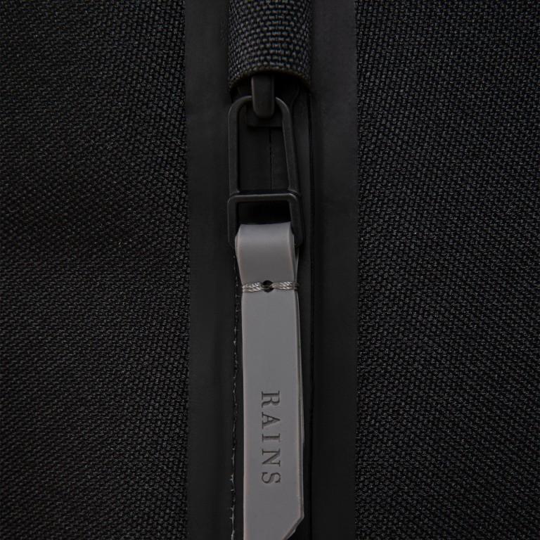 Rucksack Backpack Charcoal, Farbe: anthrazit, Marke: Rains, EAN: 5711747444235, Abmessungen in cm: 28.5x47.0x10.0, Bild 8 von 9