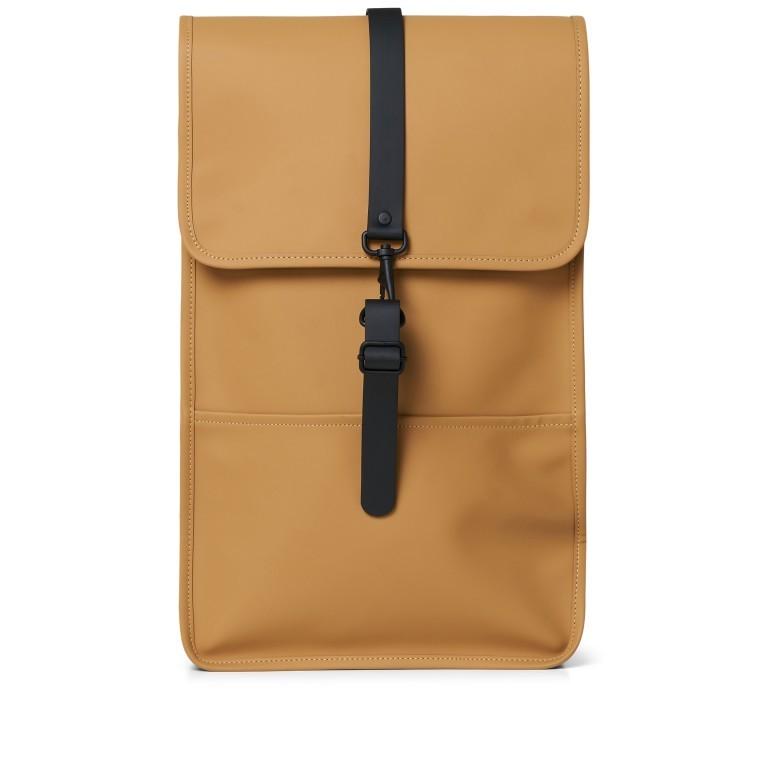 Rucksack Backpack Khaki, Farbe: taupe/khaki, Marke: Rains, EAN: 5711747460877, Abmessungen in cm: 28.5x47.0x10.0, Bild 1 von 9
