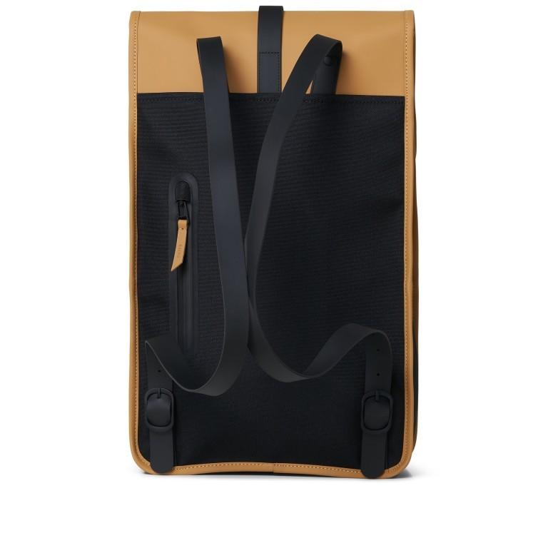 Rucksack Backpack Khaki, Farbe: taupe/khaki, Marke: Rains, EAN: 5711747460877, Abmessungen in cm: 28.5x47.0x10.0, Bild 2 von 9