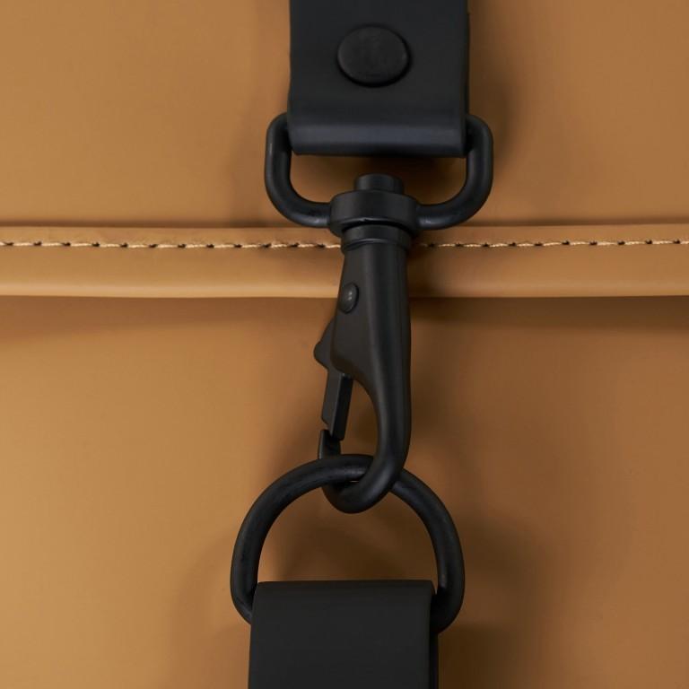 Rucksack Backpack Khaki, Farbe: taupe/khaki, Marke: Rains, EAN: 5711747460877, Abmessungen in cm: 28.5x47.0x10.0, Bild 7 von 9