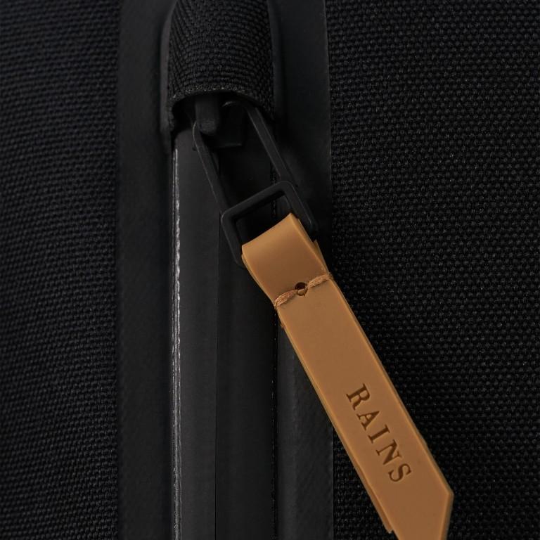 Rucksack Backpack Khaki, Farbe: taupe/khaki, Marke: Rains, EAN: 5711747460877, Abmessungen in cm: 28.5x47.0x10.0, Bild 8 von 9