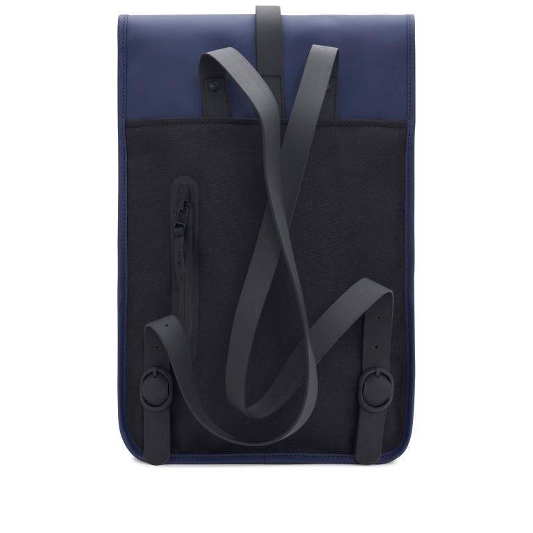 Rucksack Backpack Mini Blue, Farbe: blau/petrol, Marke: Rains, EAN: 5711747403232, Abmessungen in cm: 27.0x39.0x8.0, Bild 2 von 7