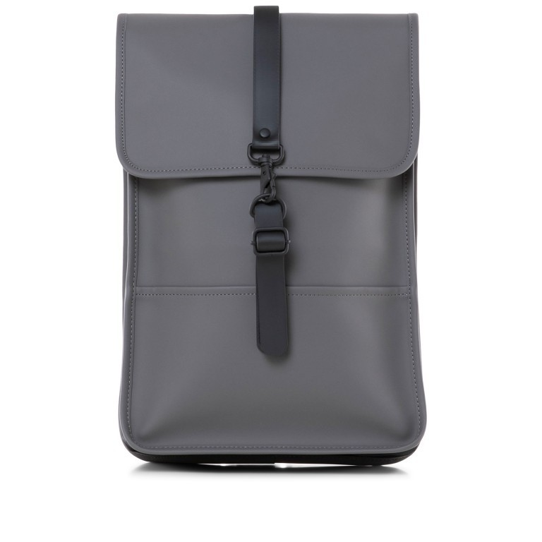 Rucksack Backpack Mini Charcoal, Farbe: anthrazit, Marke: Rains, EAN: 5711747444242, Abmessungen in cm: 27.0x39.0x8.0, Bild 1 von 7