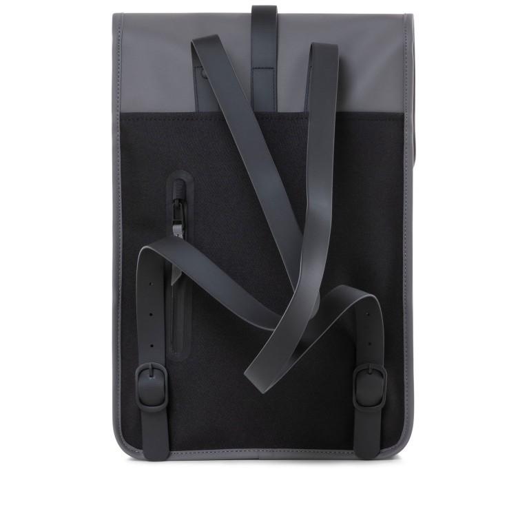 Rucksack Backpack Mini Charcoal, Farbe: anthrazit, Marke: Rains, EAN: 5711747444242, Abmessungen in cm: 27.0x39.0x8.0, Bild 2 von 7
