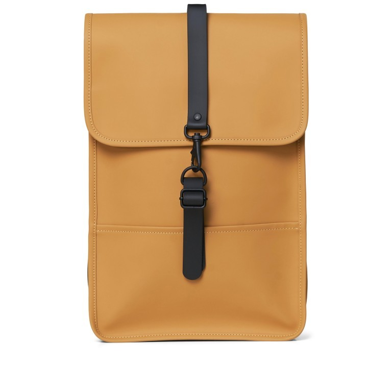 Rucksack Backpack Mini Khaki, Farbe: taupe/khaki, Marke: Rains, EAN: 5711747461003, Abmessungen in cm: 27.0x39.0x8.0, Bild 1 von 7