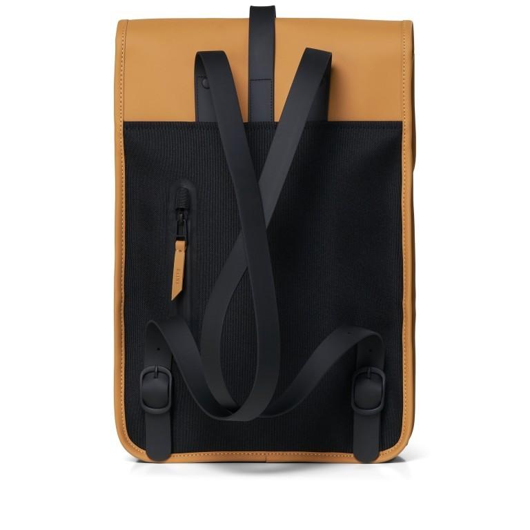 Rucksack Backpack Mini Khaki, Farbe: taupe/khaki, Marke: Rains, EAN: 5711747461003, Abmessungen in cm: 27.0x39.0x8.0, Bild 2 von 7