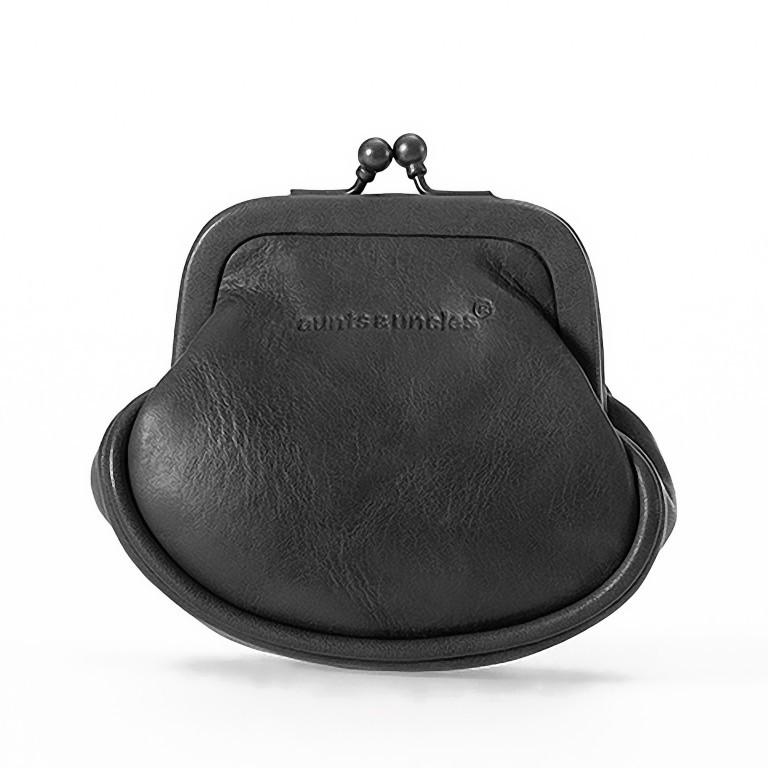 Geldbörse Grandma's Luxury Club Daisy Black Smoke, Farbe: schwarz, Marke: Aunts & Uncles, EAN: 4250394907843, Abmessungen in cm: 8.0x8.0x4.0, Bild 1 von 1