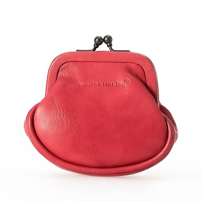 Geldbörse Grandma's Luxury Club Daisy Crimson Red, Farbe: rot/weinrot, Marke: Aunts & Uncles, EAN: 4250394961531, Abmessungen in cm: 8.0x8.0x4.0, Bild 1 von 1