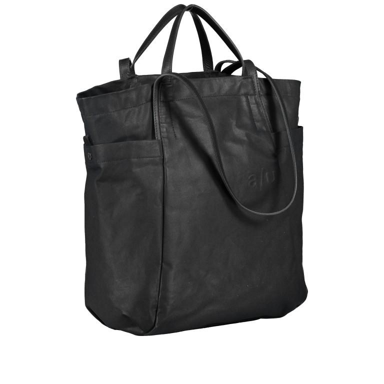 Shopper Japan Takamatsu Black, Farbe: schwarz, Marke: Aunts & Uncles, EAN: 4250394964167, Abmessungen in cm: 38.0x34.0x11.0, Bild 2 von 8