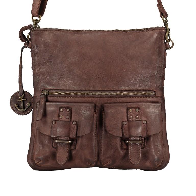 Umhängetasche Soft-Weaving Philipine B3.6304 Chocolate Brown, Farbe: braun, Marke: Harbour 2nd, EAN: 4046478028715, Bild 1 von 8